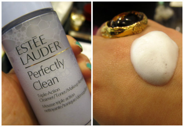 Estee Lauder Perfectly Clean Triple Action Foaming Cleanser