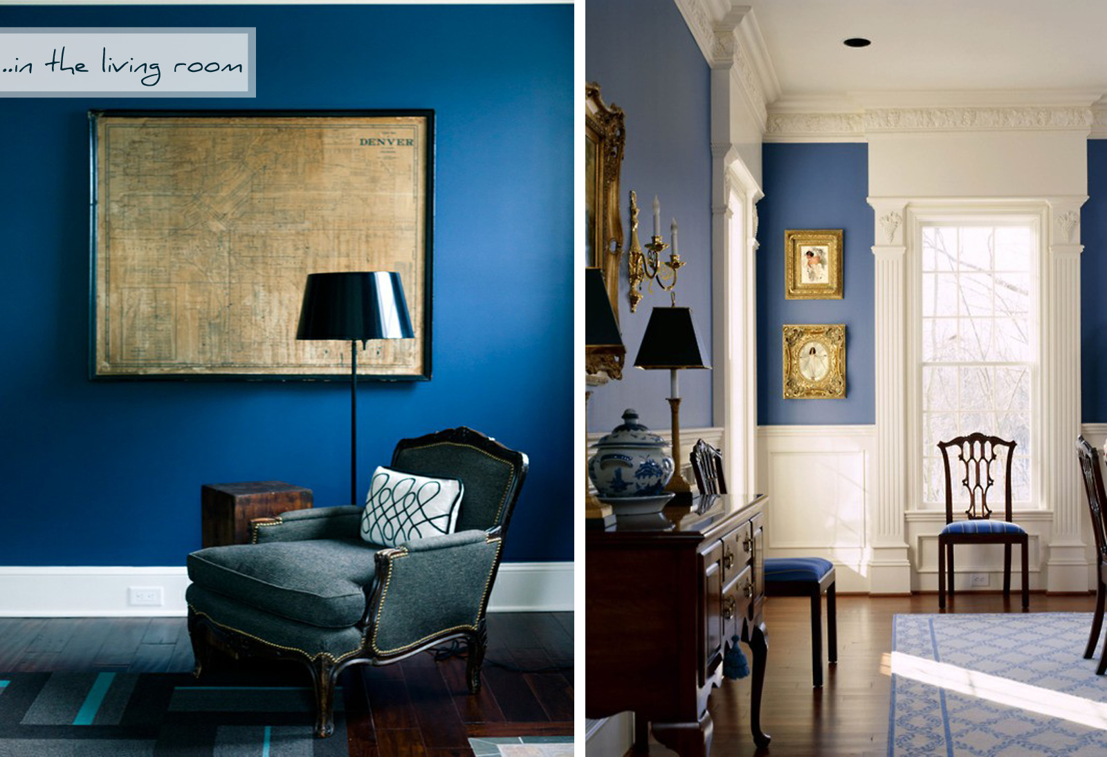 Dark Blue Kitchen Walls Viewing Gallery