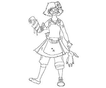 #2 Tiny Tinas Assault Coloring Page