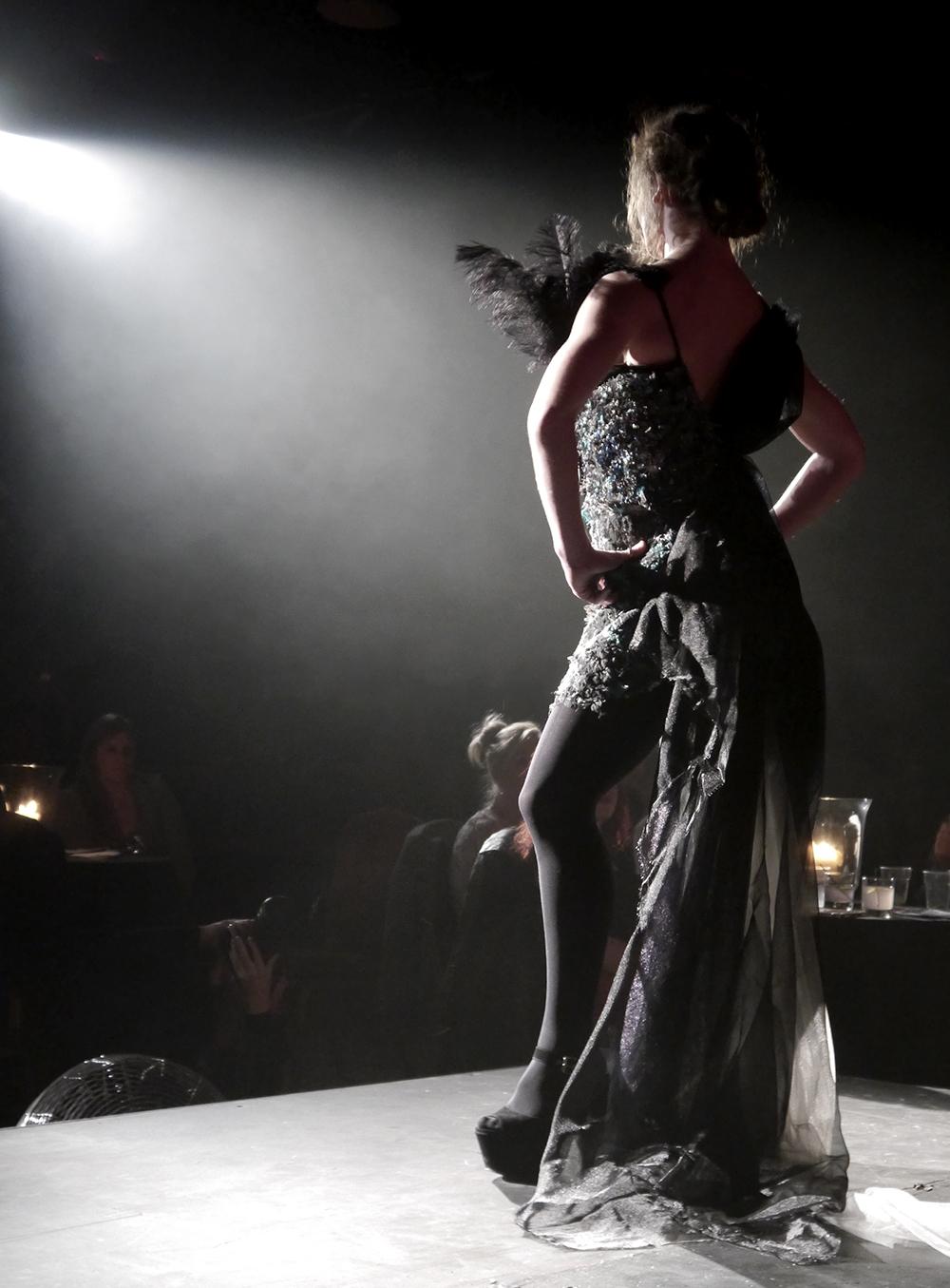 Dundee Wearable Art, Dundee Wearable Art Show, Wearable art, performance, fashion and art, Scottish Bloggers, Lorna Modeen - The Black Swan, Black Swan, Black Swan costume