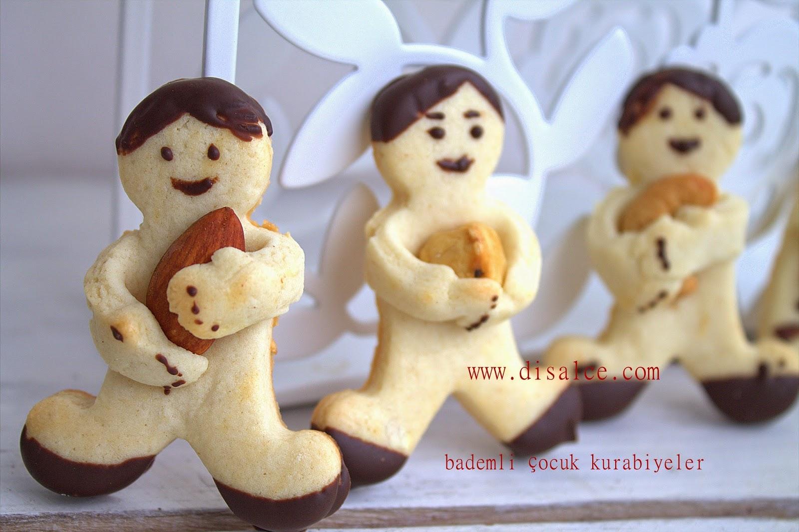çerezli bebek kurabiyeler