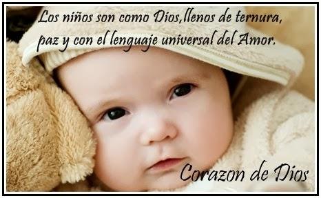 Imajenes de bebés con frases tiernas - Imagui