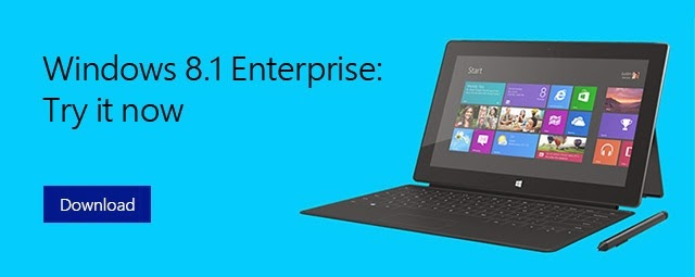 Download Windows 8.1 Enterprise Evaluation