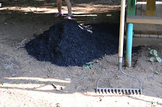 mulch for swingset