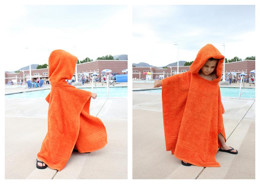 Как сшить детское полотенце-пончо Просто Мама 41