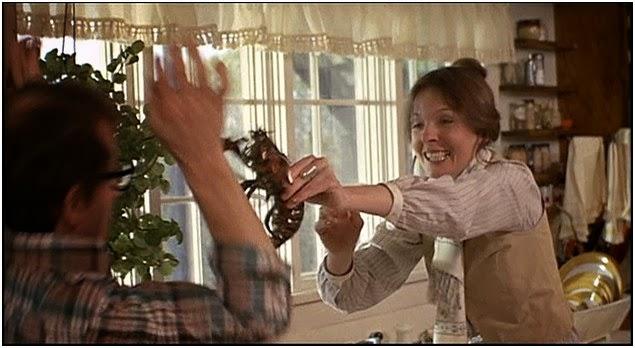 Keaton Annie Hall Annie Diane Keaton Threatens