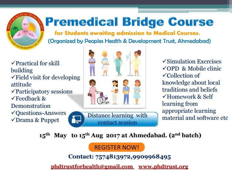 Pre-medical bridge course 2017
