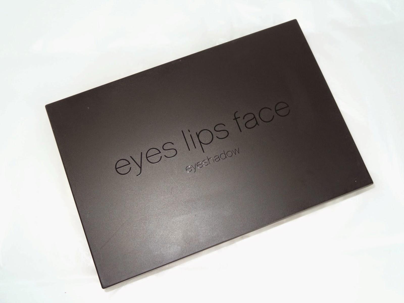 e.l.f cosmetics essential 18 piece palette with brush