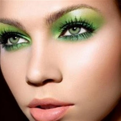 Green Eye Shades Make Up