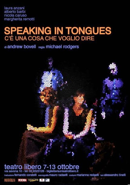 spettacoli teatrali ad ottobre a Milano: speaking in tongues al Teatro Libero