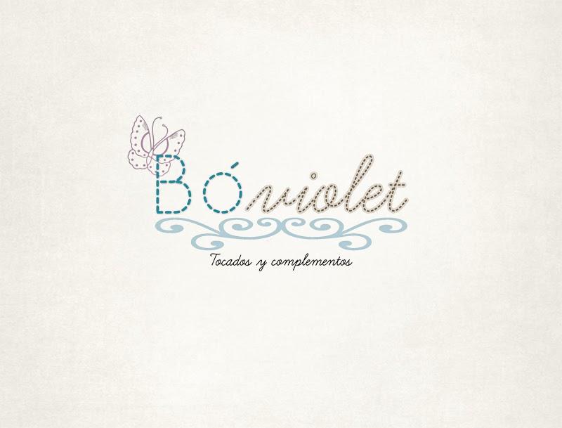 Logotipo e imagen corporativa para Bóviolet