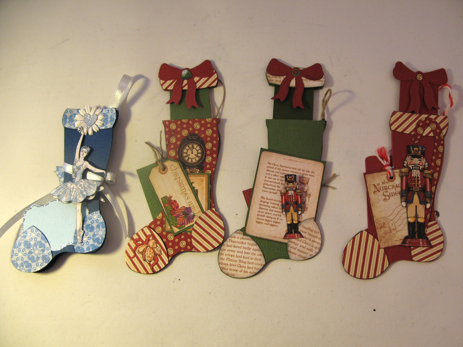 tim holtz holiday stocking stuffer card tutorial