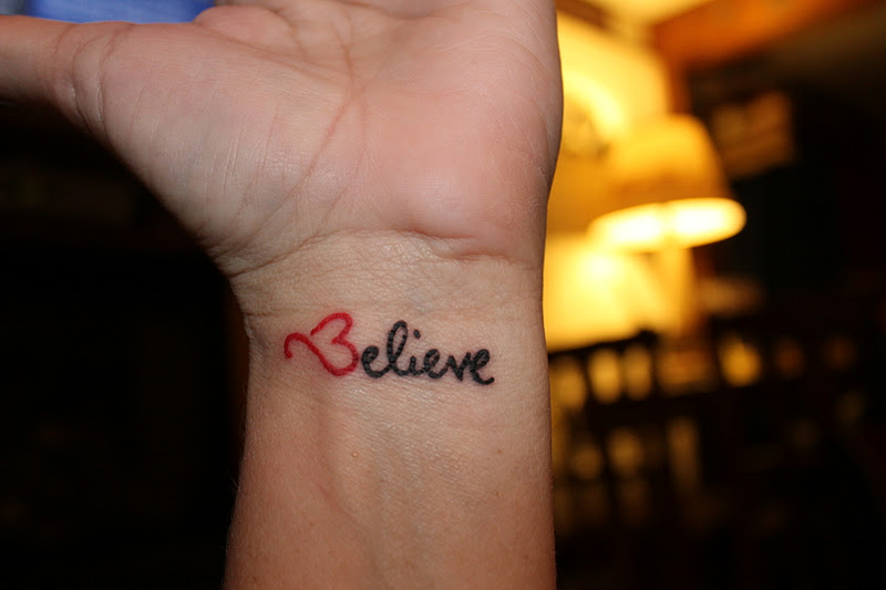 i love you tattoos on wrist