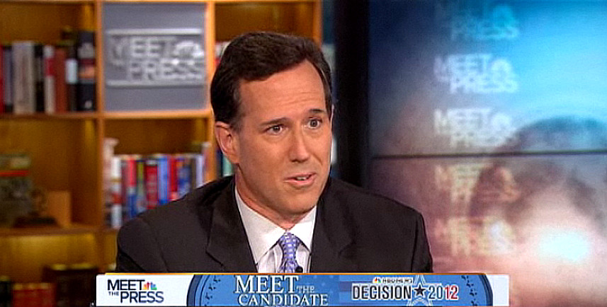 Rick Santorum Meet the Press 06/12/11