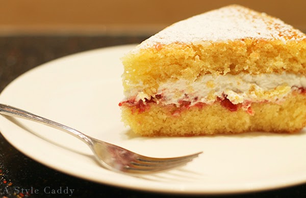 how to make double cream filling for victoria sponge