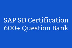 SAP SD Question Bank