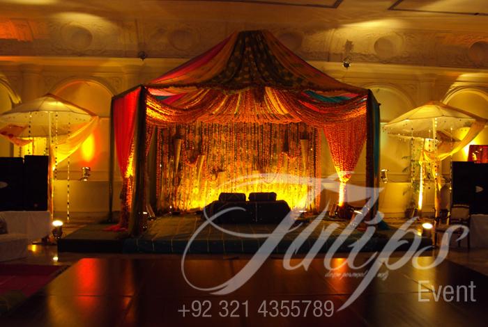 Mehendi Stage Decoration Best Pakistani Wedding Mehendi