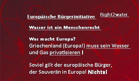 Wasserprivatisierung in Europa