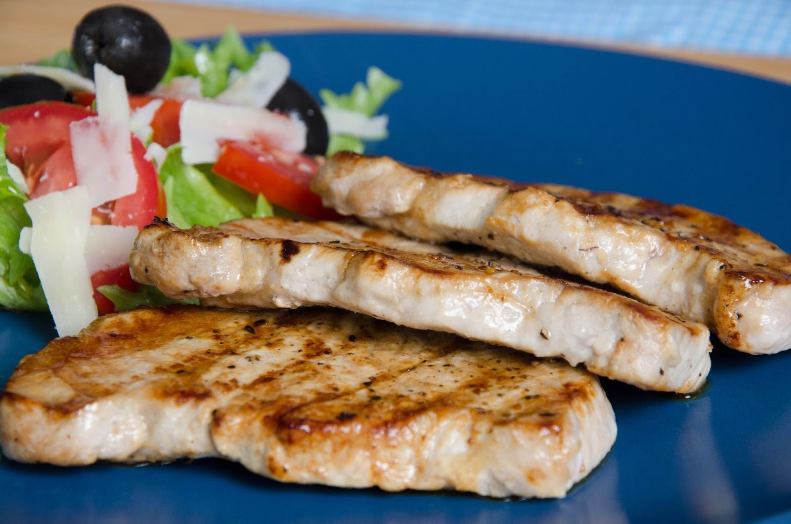 Pork chops - czyli kotlety schabowe z patelni grillowej