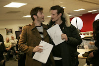 Matt Smith David Tennant