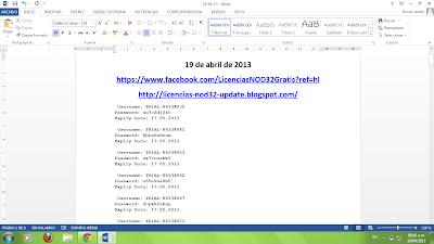 Licencias Nod32 Gratis Llaves- Keys - Licencias NOD32 – ESET Smart ...