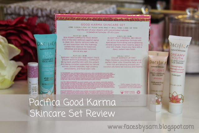 Pacifica Good Karma Skincare Set Review