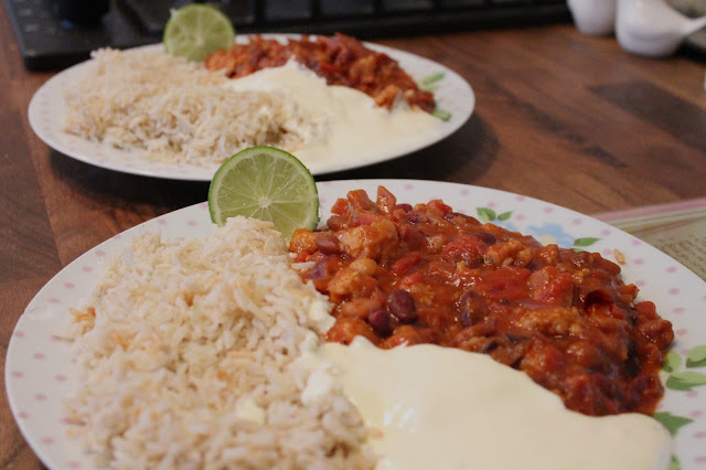 Hello Fresh Mixed Bean Chilli with Herbed Pork