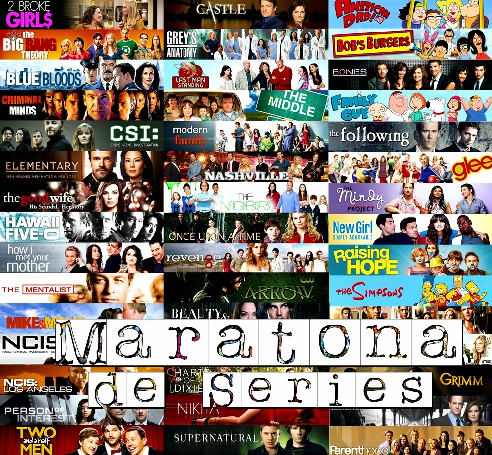 Series Challenge   Maratona de Séries (Junho   2014)