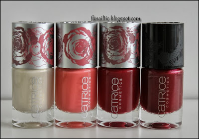 Catrice C01 bloomynous ☆ C05 blossom you, blossom me ☆ C04 rosebuddy ☆ C04 allure