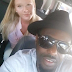 JIM IYKE'S FOREIGN GIRLFRIEND IS A YEAR OLDER SEE HER picture