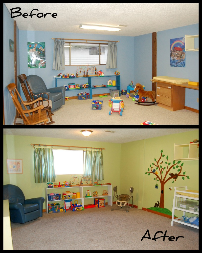 Church nursery decorating ideas dream house experience for Church mural ideas