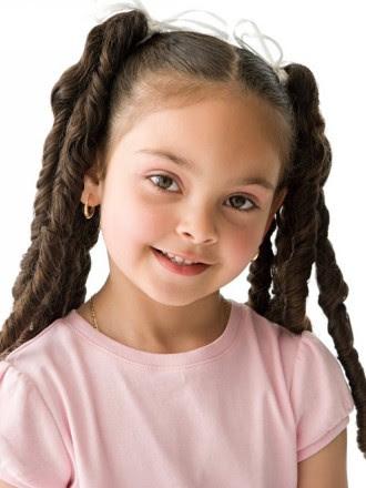 Peinados a la moda peinados para ni as con pelo largo - Peinados nina pelo largo ...