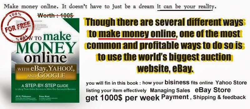 Make Money Online With eBay , Yahoo and Google