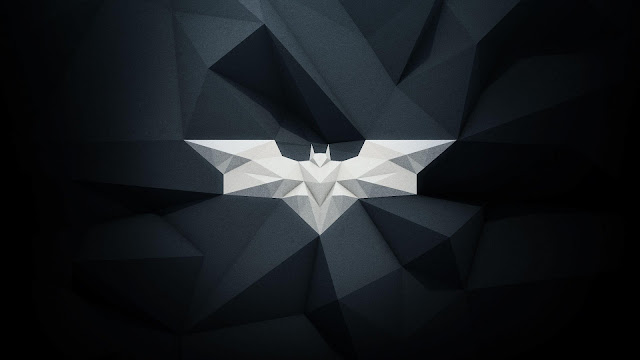 Modern Batman Logo HD Wallpaper