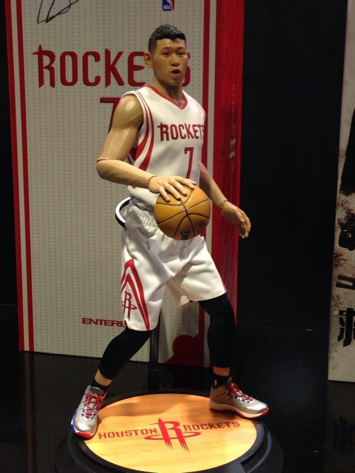 [Enterbay] NBA Series: Jeremy Lin (Houston Rockets) Eb12