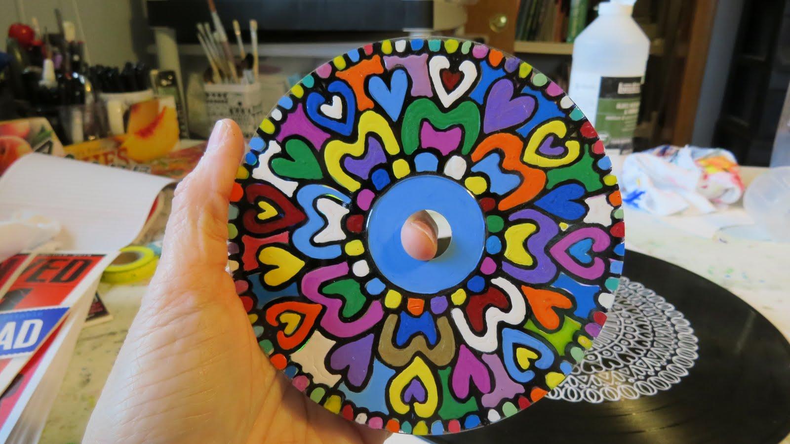 Doodled CD .. COOL