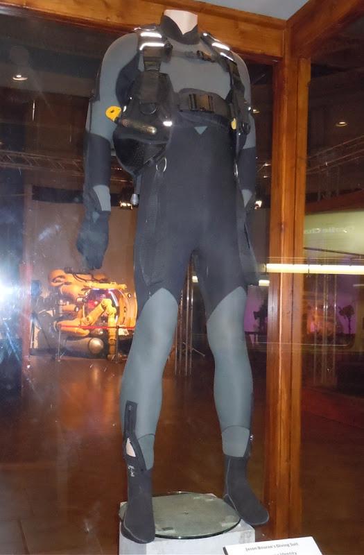 The Bourne Identity Matt Damon's diving suit