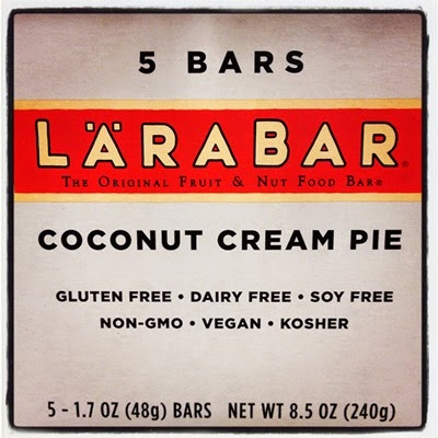 Plant Based Vegan Vegetarian Food Snacks Target Coconut Cream Pie Larabar Multipack 5 Pack Gluten Free Dairy Free Soy Free Non-GMO Kosher