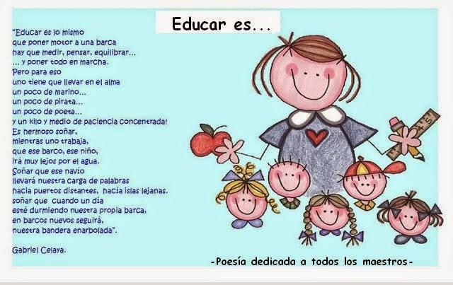 Dedicado a todos los maestros