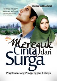 Buku Mereguk Cinta dari Surga, Novel Mereguk Cinta dari Surga, buku novel islam, novel islam, novel islami