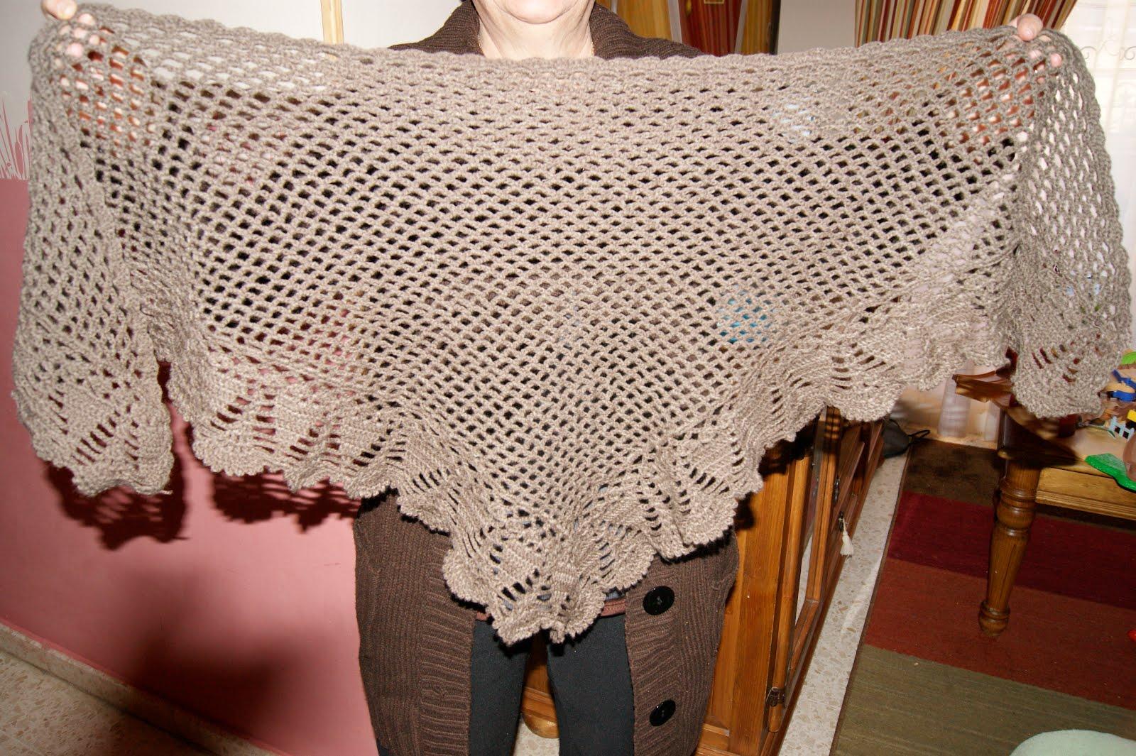 Creaciones mery mi primera toca de crochet - Toca de ganchillo ...