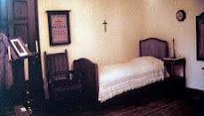 Kamar tidur PJ Triest (menjadi museum)