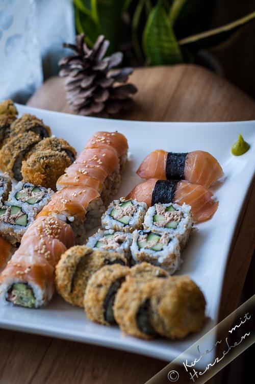 Homemade Sushi-Platte für 2