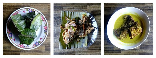 Hidangan Tapai Pulut, Ikan Pekasam dan Masak Lemak