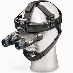 Bushnell Night Vision Goggles 1x20 Night Vision Gen 1 Goggle with Headgear 261020