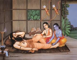 Birth Of Great Sage Vishwamitra - Sri Ramanin Padhayil