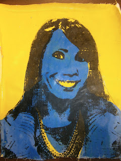 Photo Transfer Pop Art Portrait