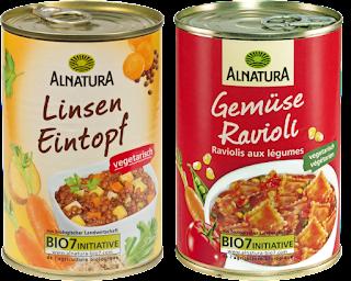 Alnatura Linsen-Eintopf & Gemüse-Ravioli