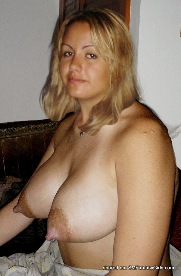 Blonde With Big Heavy Tits Long Nipples Areolas