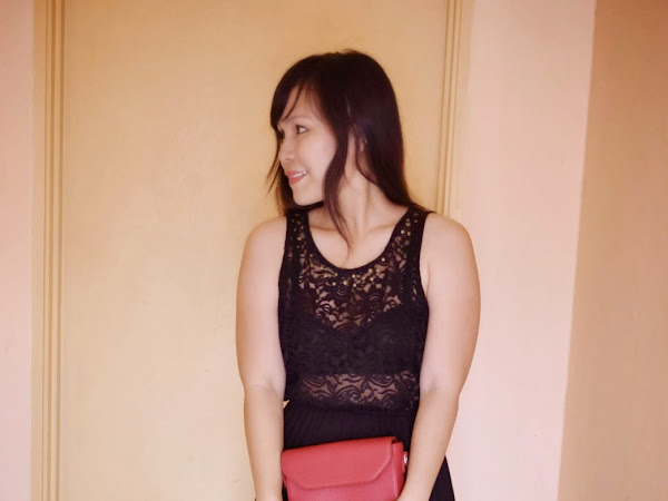 Outfit Diary : Red and black (Happy Chinese New Year 2015!)